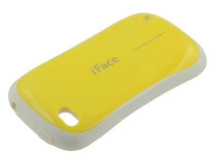 iPhone 4 iFace Dual-Design Case - Yellow/White