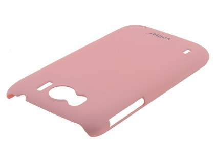 Vollter HTC Sensation XL Ultra Slim Rubberised Case plus Screen Protector - Baby Pink