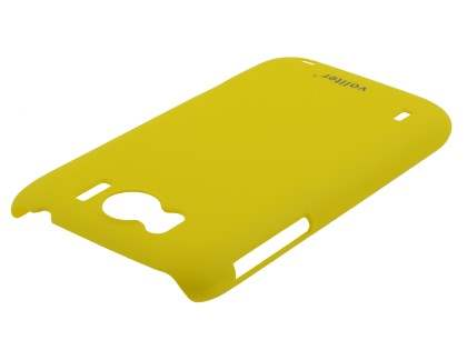 Vollter HTC Sensation XL Ultra Slim Rubberised Case - Canary Yellow