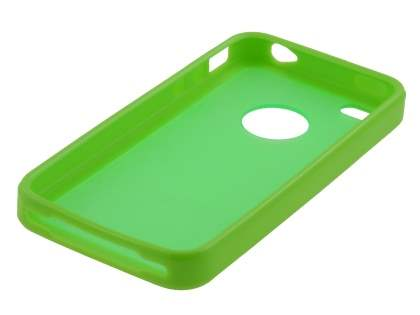 iPhone 4S Dual-Design Case - Green/Frosted Green