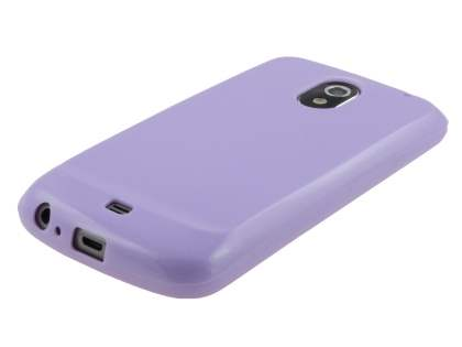 Glossy Gel Case for Samsung I9250 Google Galaxy Nexus - Light Purple