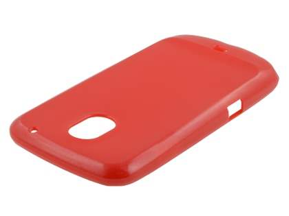 Glossy Gel Case for Samsung I9250 Google Galaxy Nexus - Red