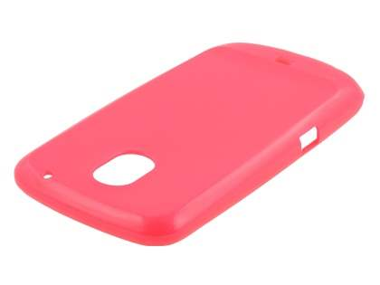 Glossy Gel Case for Samsung I9250 Google Galaxy Nexus - Pink