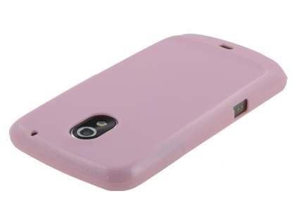 Glossy Gel Case for Samsung I9250 Google Galaxy Nexus - Baby Pink