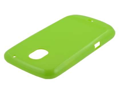 Glossy Gel Case for Samsung I9250 Google Galaxy Nexus - Lime Green