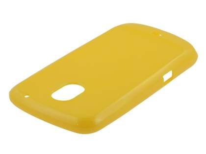 Glossy Gel Case for Samsung I9250 Google Galaxy Nexus - Canary Yellow