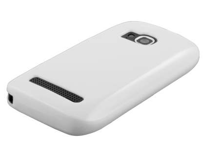 Glossy Gel Case for Nokia Lumia 710 - Pearl White