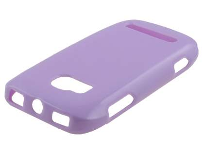 Glossy Gel Case for Nokia Lumia 710 - Light Purple