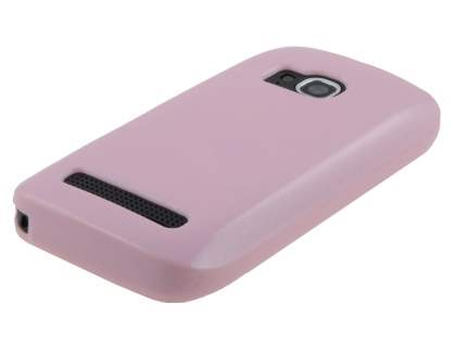 Glossy Gel Case for Nokia Lumia 710 - Baby Pink