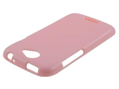 Glossy Gel Case for HTC One S - Baby Pink