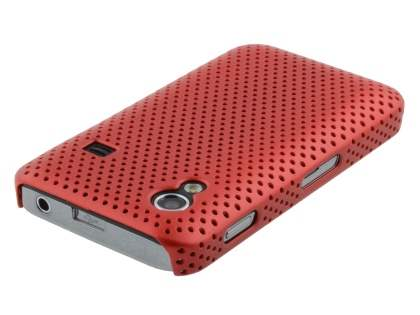 Samsung Galaxy Ace S5830 Slim Mesh Case - Red