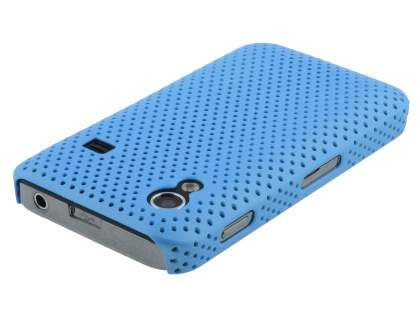 Samsung Galaxy Ace S5830 Slim Mesh Case - Sky Blue
