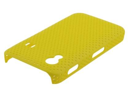 Samsung Galaxy Ace S5830 Slim Mesh Case - Canary Yellow