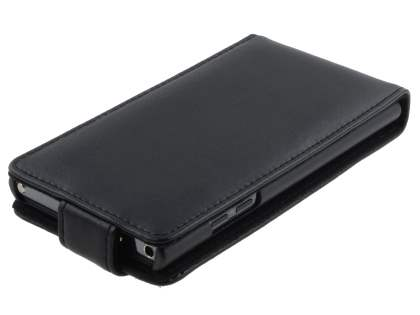 LG Prada 3.0 Genuine Leather Flip Case - Black