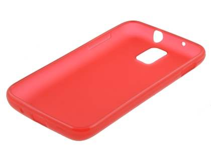 Samsung I9210T Galaxy S II 4G TPU Gel Case - Frosted Red