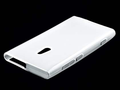 Nokia Lumia 800 TPU Gel Case - Frosted Clear