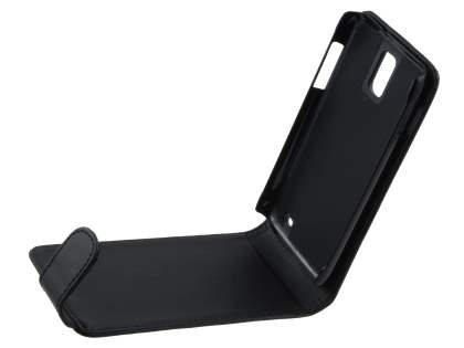 Samsung I9210T Galaxy S II 4G Synthetic Leather Flip Case - Black