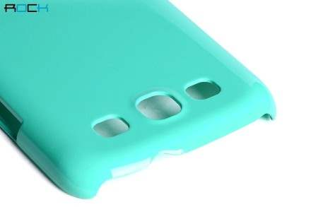 ROCK Nakedshell Glossy Colour Case for Samsung I9300 Galaxy S3 - Jungle Green
