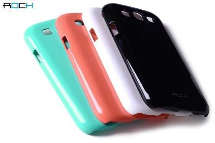 ROCK Nakedshell Glossy Colour Case for Samsung I9300 Galaxy S3 - Pearl White