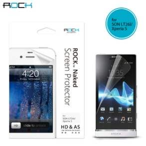 ROCK Sony LT26i Xperia S Naked HD & AS Screen Protector
