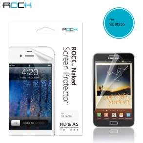 ROCK Samsung Galaxy Note Naked HD & AS Screen Protector