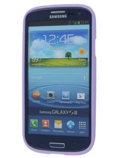 SUNTOO Glossy Gel Case for Samsung I9300 Galaxy S3 - Light Purple