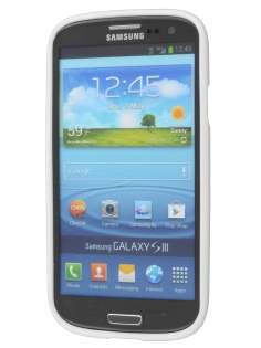SUNTOO Glossy Gel Case for Samsung I9300 Galaxy S3 - Pearl White
