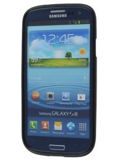 SUNTOO Samsung I9300 Galaxy S3 Frosted TPU Case plus Screen Protector - Classic Black