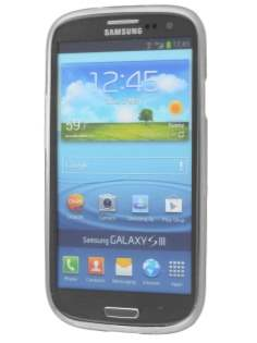 SUNTOO Samsung I9300 Galaxy S3 Frosted TPU Case plus Screen Protector - Frosted Clear