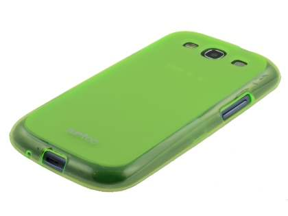 SUNTOO Samsung I9300 Galaxy S3 Frosted TPU Case - Green