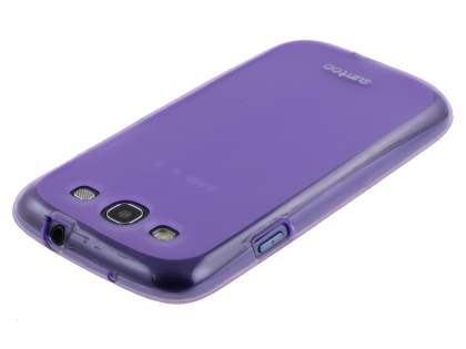 SUNTOO Samsung I9300 Galaxy S3 Frosted TPU Case - Purple