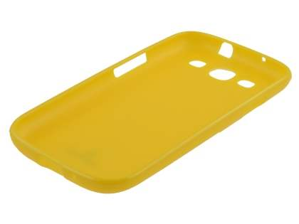 SUNTOO Glossy Gel Case for Samsung I9300 Galaxy S3 - Canary Yellow