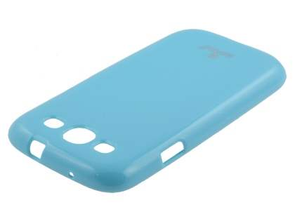 SUNTOO Glossy Gel Case for Samsung I9300 Galaxy S3 - Sky Blue