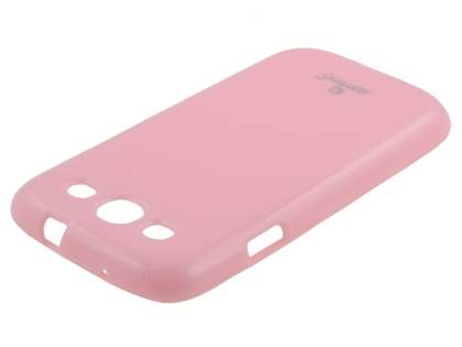 SUNTOO Glossy Gel Case for Samsung I9300 Galaxy S3 - Baby Pink
