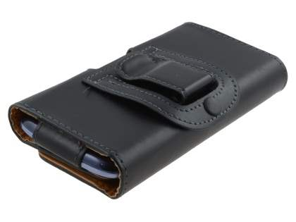 Smooth Synthetic Leather Belt Pouch for Samsung Galaxy S3/S4