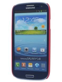 Vollter Ultra Slim Glossy Case for Samsung I9300 Galaxy S3 - Amaranth Red