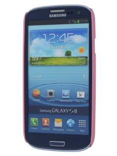 Samsung I9300 Galaxy S3 UltraTough Rubberised Slim Case - Pink