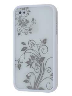 LIM'S Fashionable Protective Case for iPhone 4S/4 - Dual-Design Case