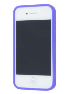 LIM'S RAINBOW Protective Case for iPhone 4S/4 - Rainbow Purple