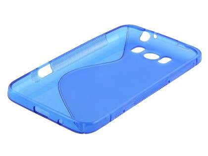 HTC Titan Wave Case - Frosted Blue/Blue