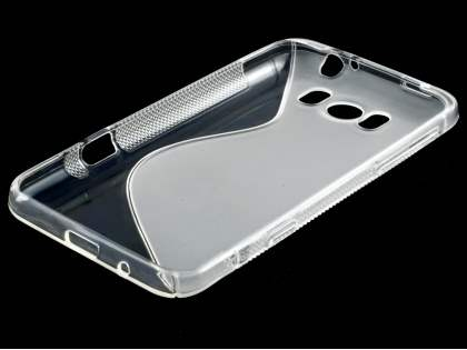 HTC Titan Wave Case - Frosted Clear/Clear