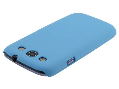Samsung I9300 Galaxy S3 UltraTough Rubberised Slim Case - Sky Blue