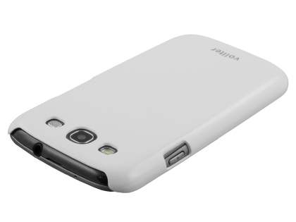 Vollter Ultra Slim Glossy Case for Samsung I9300 Galaxy S3 - Pearl White