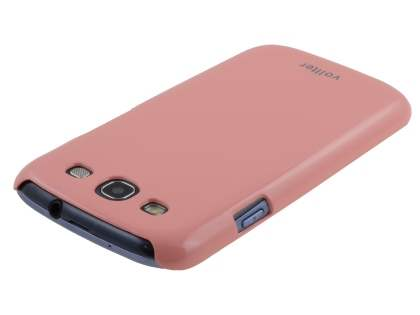 Vollter Ultra Slim Glossy Case for Samsung I9300 Galaxy S3 - Baby Pink