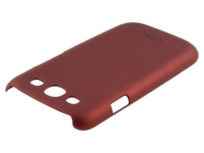Vollter Ultra Slim Rubberised Case for Samsung I9300 Galaxy S3 - Red