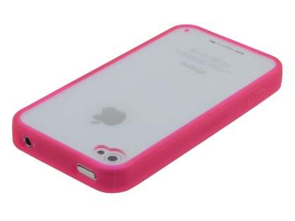 LIM'S Ultimate Crystal Case for iPhone 4S / 4 - Pink/Clear