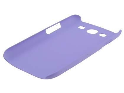 Vollter Ultra Slim Rubberised Case for Samsung I9300 Galaxy S3 - Light Purple