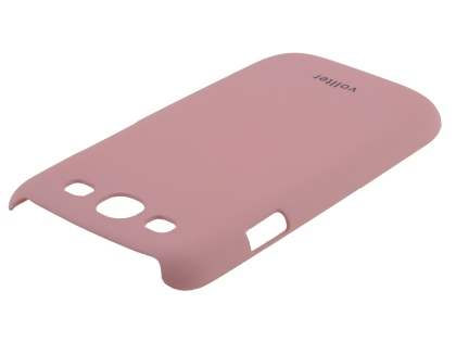 Vollter Ultra Slim Rubberised Case for Samsung I9300 Galaxy S3 - Baby Pink