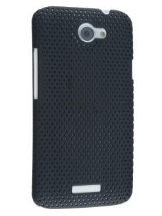 HTC One X / XL / X+ Slim Mesh Case - Black