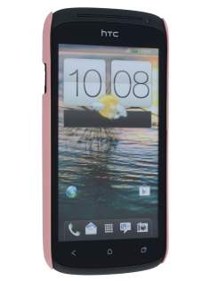 Vollter Ultra Slim Rubberised Case plus Screen Protector for  HTC One S - Baby Pink